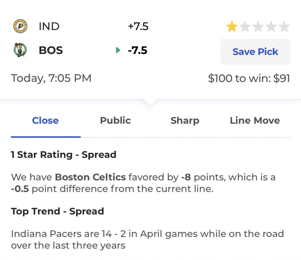 4860c94e5df9 NBA Playoff Betting Trends  April 17
