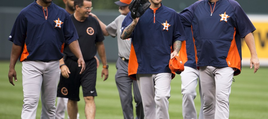 MLB Teams to Stack from AL West: Houston Astros
